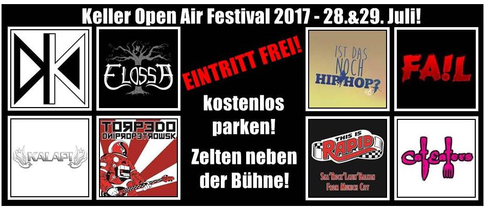 Keller Open Air 2017 @ Radeburg | Radeburg | Sachsen | Deutschland