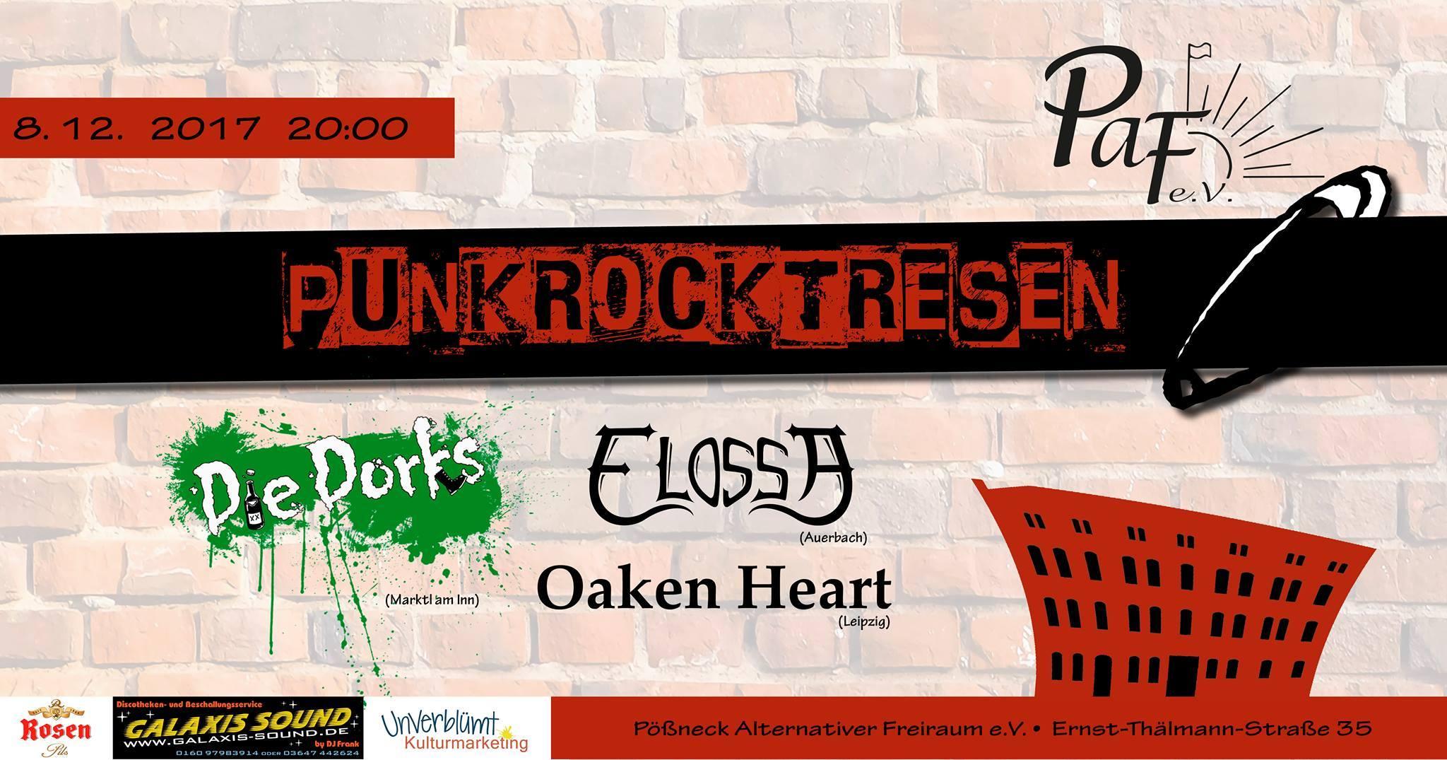 """Konzi """"Punkrocktresen"""" @ PAF-Pößneck"""