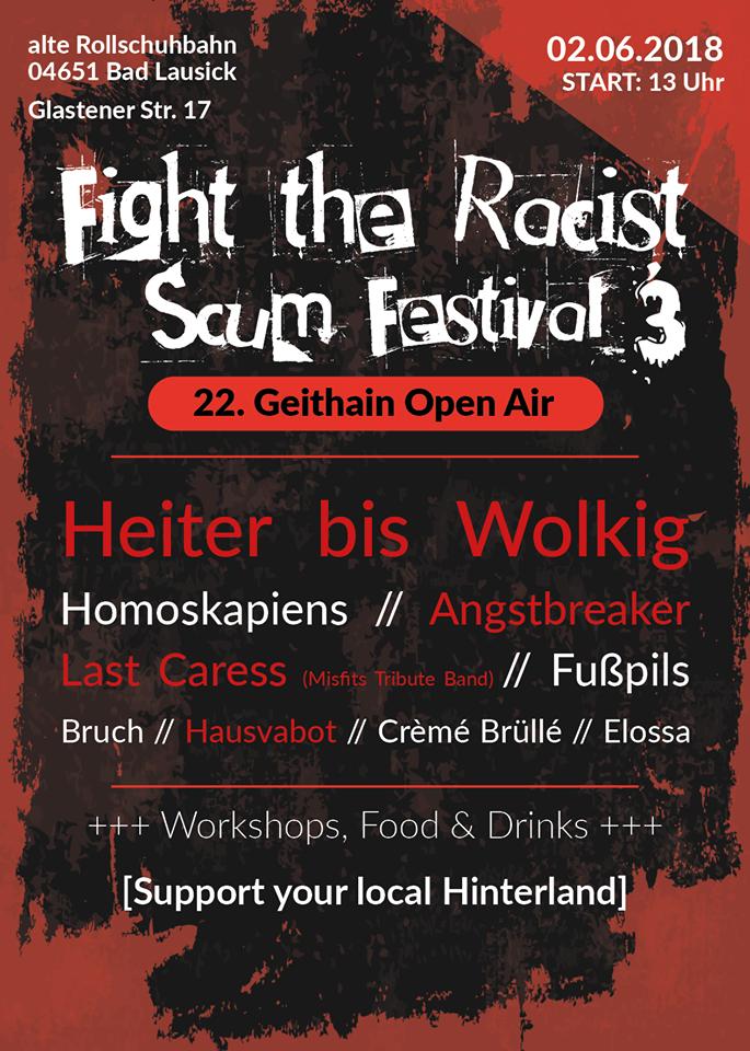 22.Geithain Open Air @ Alte Rollschuhbahn | Bad Lausick | Sachsen | Deutschland